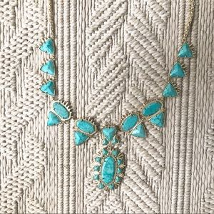 ON HOLD: Kendra Scott turquoise necklace